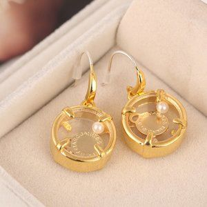 Marc Jacobs Jewelry - Marc Jacobs Pearl Disc Earrings